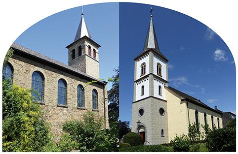 Kirchen Seelscheid und Wahlscheid